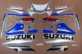 Suzuki GSX-R GSXR 600 2002 k2 decals set stickers kit Blue Sil version K... - $89.00