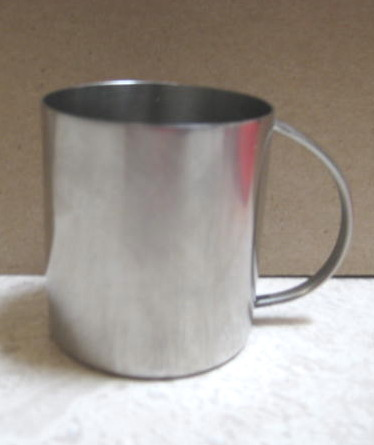 Pewter Baby Cup - Cromargen, Germany-1950's Mint Cond  - baby shower  baby gift