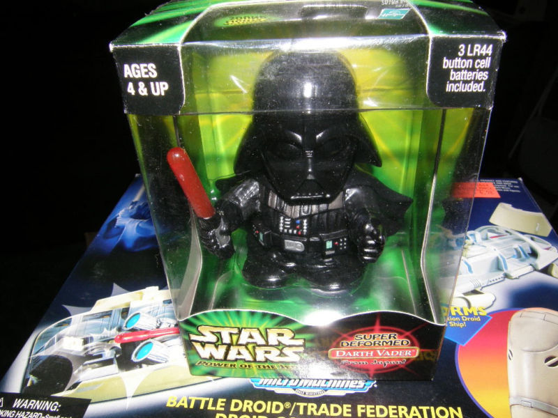 Super Deformed Darth Vader