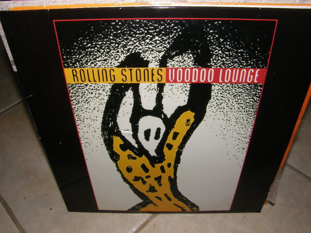 The Rolling Stones: Voodoo Lounge (1994) [ID3403CA] Laserdisc DISC DAMAGED