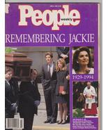 PEOPLE MAGAZINE~REMEMBERING JACKIE~6/6/94 ~ 22 ... - $9.00