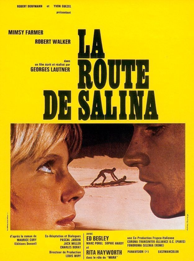 ROAD TO SALINA Mimsy Farmer, Robert Walker Jr., Ed Begley NEW + SEALED DVD