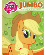 My Little Pony Jumbo Coloring & Activity Book Apple Jack New - $2.49