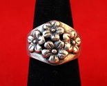 Sterling 2520silver 2520daisies 2520ring 25202 thumb155 crop