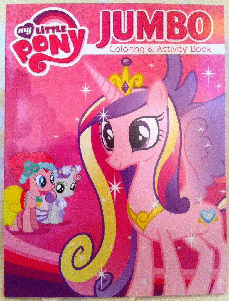 MLP My Little Pony Jumbo Coloring Activity Book Princess Cadance New