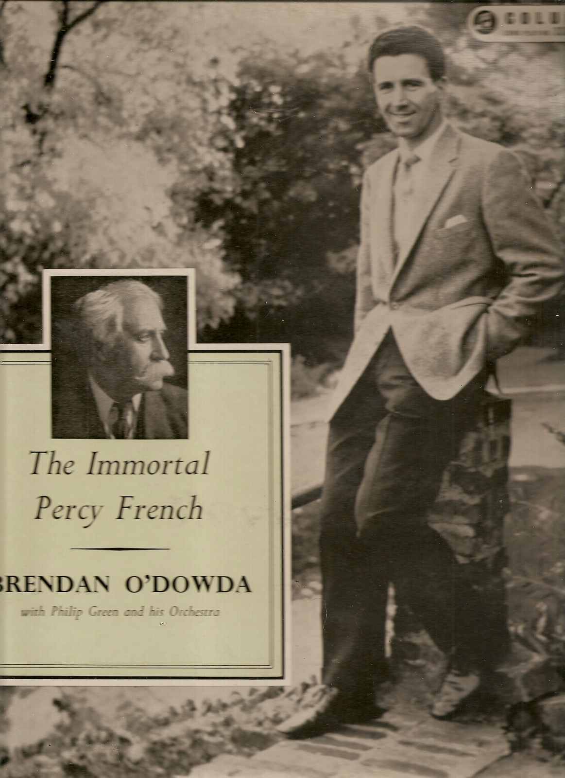 LP-- Brendan O'dowda ‎  - 	 Sings Immortal Irish Ballads