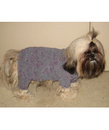 HANDMADE hand knit Dog Sweater for Male Dog - small breed - $14.99