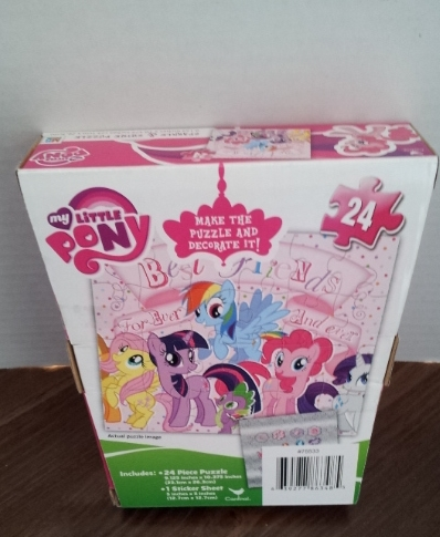 MLP My Little Pony 24 Piece Sparkle & Shine Puzzle NEW