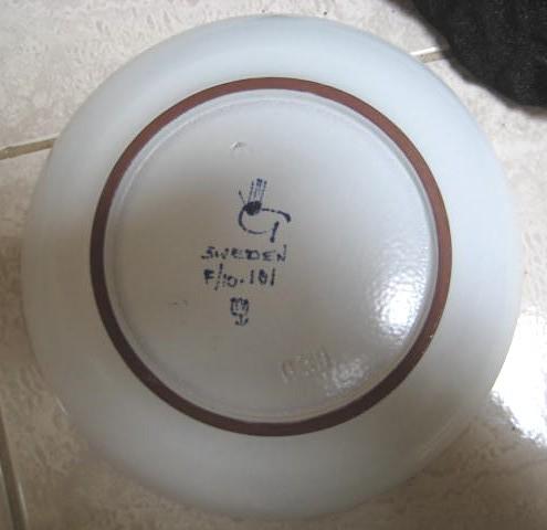 RARE STIG Lindberg Bowl MODERNE -ca1950's-authenticated