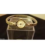 Vintage Hamilton L&W 14K Gold & Diamonds Ladies Watch - Works! - $325.00