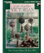 A Touch of Victorian Ornaments Crochet Book NEW - $13.00