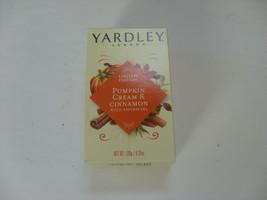 NEW Yardley London Moisturizing Bath Bar Pumpkin Cream & Cinnamon 4.25 oz. Soap - $3.98