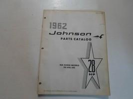 1962 Johnson 28 HP Mar Caballo Modelos Rx Rxl 10C Partes Catalog Manual ... - $13.80