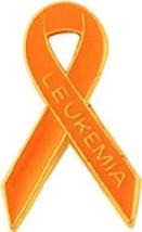 Leukemia Orange Ribbon Awareness Lapel Pin Embo... - $10.97