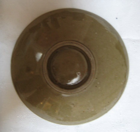 Vintage Mid Century Modern Art pottery bowl- eames era