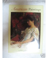American Paintings- Folio of Postcards- - $3.00