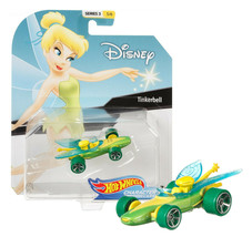Hot Wheels Disney Tinkerbell Character Cars Series 3 5/6 Mint on Card - $12.88