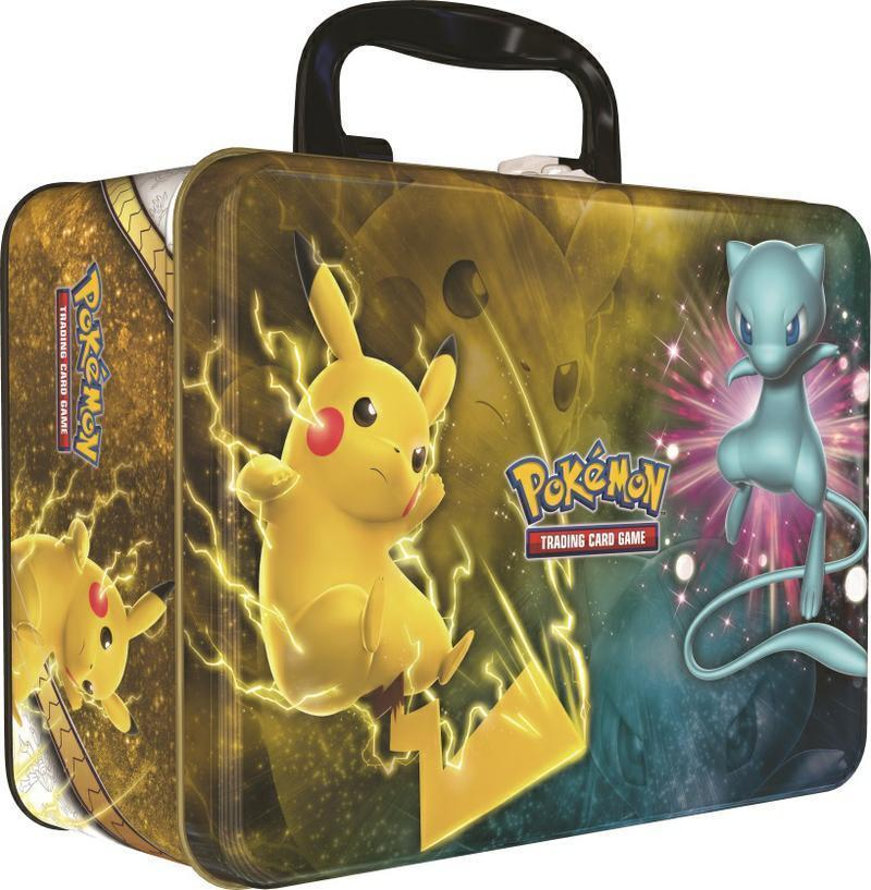 Pokemon TCG Shining Legends Raichu GX Collection Box and Collectors Chest Bundle