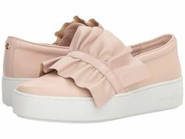 Michael Kors Bella Slip On Sneaker Leather Soft Pink Women's Size 8.5M NIB - $76.67