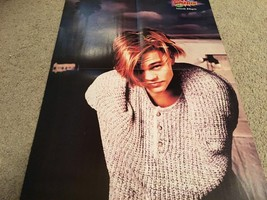 Leonardo Dicaprio Hanson teen magazine poster clipping messy hair Teen Beat Bop