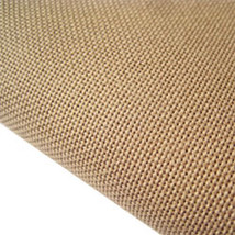 Coffee 28ct Evenweave 35x38 cross stitch fabric Fabric Flair - $37.80