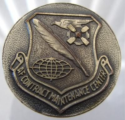 Primary image for US AIR FORCE CONTRACT MAINTENANCE CENTER SAFETY MEDAL