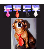 Pet Inc Dog or Cat Tie Formal wear Red, Black, White or Pink NEW - £4.01 GBP