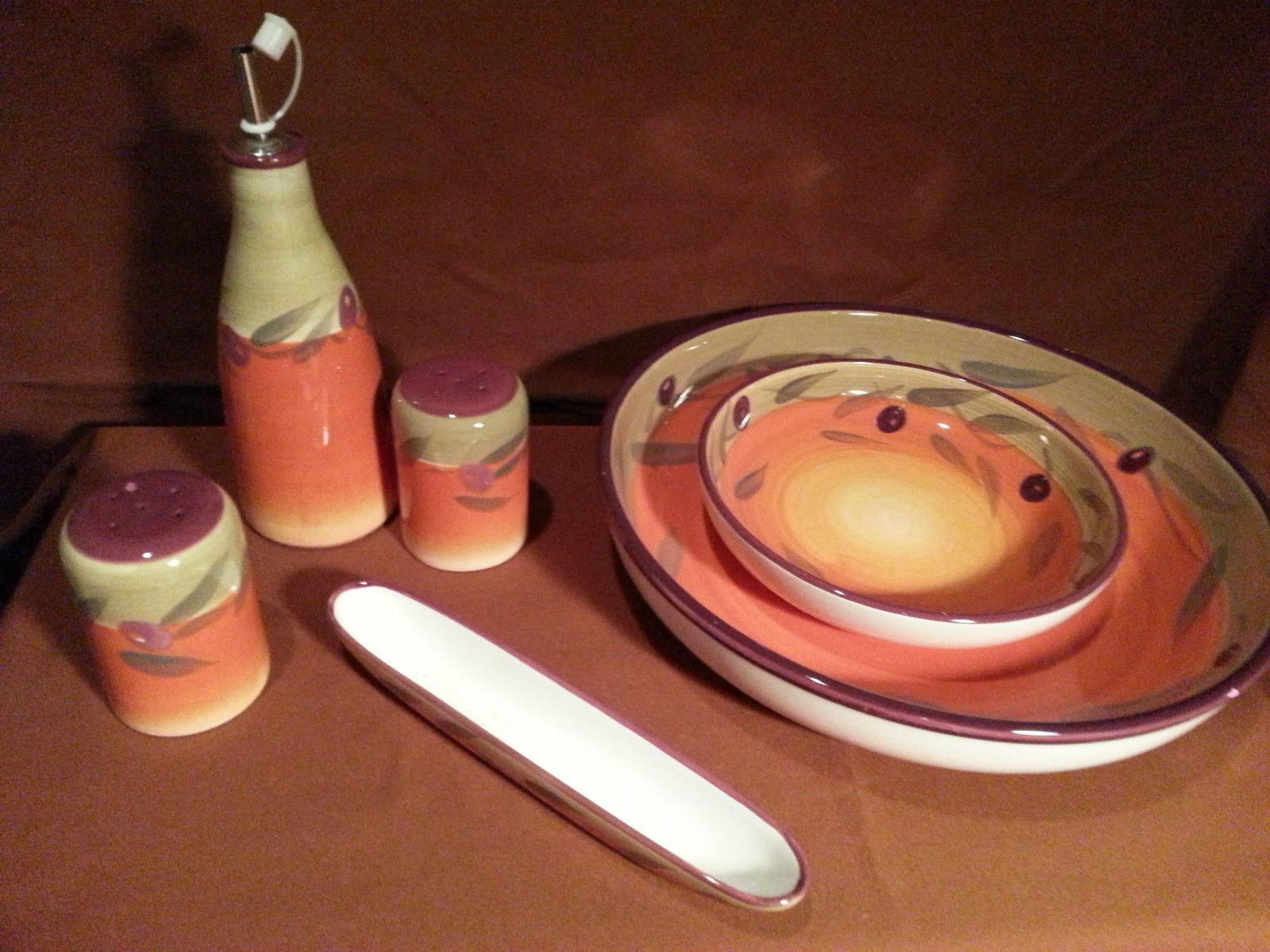 6 pcsalad bowl set