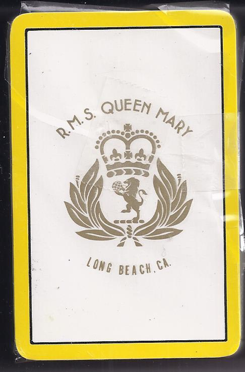 Playing cards rms queen mary