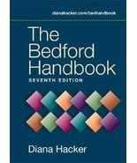 *NEW* The Bedford Handbook Diana Hacker (2005) 7TH EDITION 0312419333 - $15.35