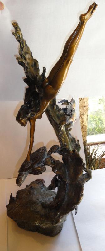 Mark Hopkins  Sea Maiden  ltd edition bronze sculpture -