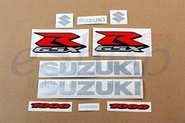 Suzuki GSX-R 1000 2008 k8 complete full decals kit stickers set Blue ver... - $47.00