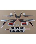 Suzuki GSX-R 1000 2006 k6 decals set stickers kit  Black Grey Aufkleber K5 - $81.00