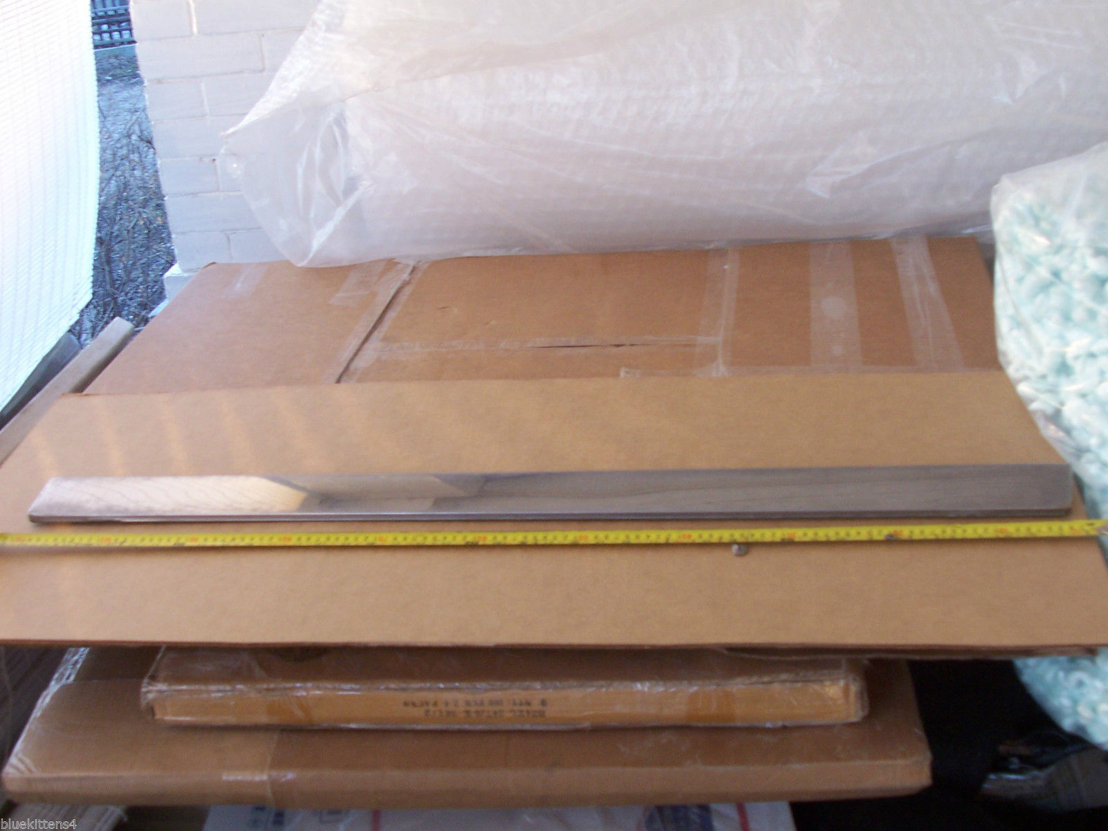 1991 1992 BROUGHAM RIGHT FRONT DOOR LOWER TRIM MOLDING OEM USED CADILLAC
