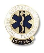 Certified EMT Lapel Pin Emergency Medical Techn... - $12.57
