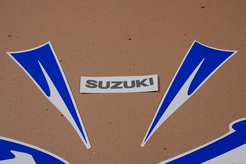 Suzuki GSX 1300R Hayabusa 2010 2011 complete decals set stickers kit Blue Ver