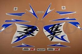 Suzuki GSX 1300R Hayabusa 2008 2009 Silver White decals set stickers kit... - $84.90