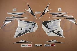 Suzuki GSX 1300R Hayabusa 2008 2009 Silver Alluminum decals set stickers... - $84.90