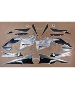 Suzuki GSX 1300R Hayabusa 2005 2006 Black Graphite decals kit stickers set - $89.90