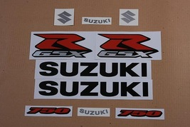 Suzuki GSX-R 750 2007 K7 Black version #2 Full decals stickers set kit - $46.00