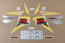 Suzuki GSX-R 750 2006 K6 Black Yellow version Full decals stickers set kit - $78.90