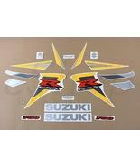 Suzuki GSX-R 750 2006 K6 Black Yellow version Full decals stickers set kit - $78.90