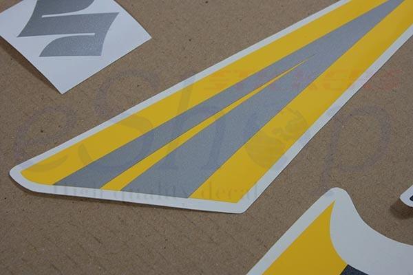 Suzuki GSX-R 750 2006 K6 Black Yellow version Full decals stickers set kit
