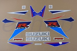 Suzuki GSX-R 750 2006 K6 2007 K7 Blue/W version full decals stickers set... - $84.00