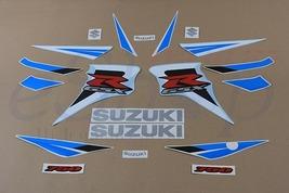 Suzuki GSX-R 750 2006 K6 Blue version Full decals stickers set kit - $78.90