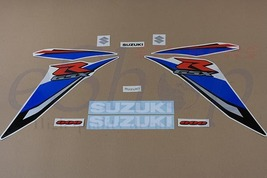 Suzuki GSX-R 600 2009 K9 Blue White version full decals stickers set kit - $79.00
