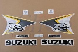 Suzuki GSX-R 600 2008 K8 Yellow version full decals stickers set kit Aut... - $72.00
