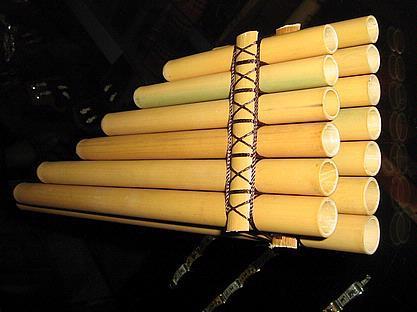 Original peruvian flute, pan flute, zamponia