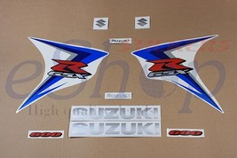 Suzuki GSX-R 600 2007 K7 Blue version full decals stickers set kit High ... - $77.00