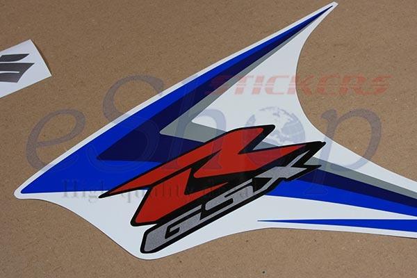 Suzuki GSX-R 600 2007 K7 Blue version full decals stickers set kit High Quality